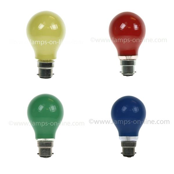 Coloured Bulbs