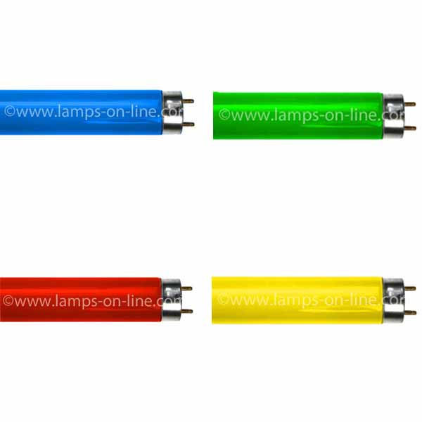 Coloured Fluorescent Tubes