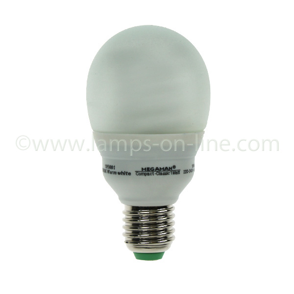 Megaman Household Bulb Shape