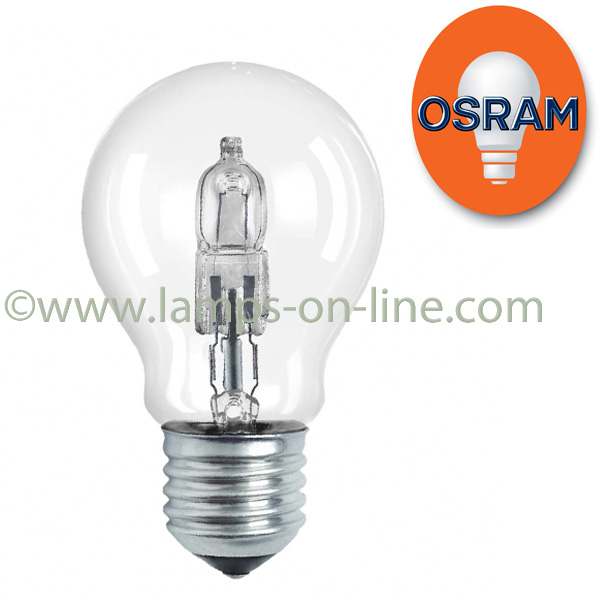 osram halogen classic eco bulbs from lamps online. Black Bedroom Furniture Sets. Home Design Ideas