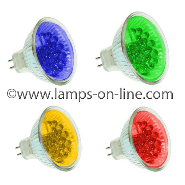 LED MR16 Coloured