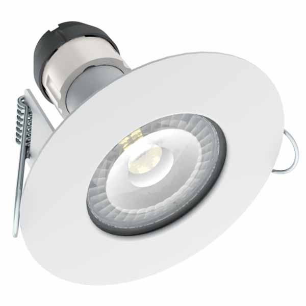 led downlight fire rated ip65 gu10 with lamp. Black Bedroom Furniture Sets. Home Design Ideas