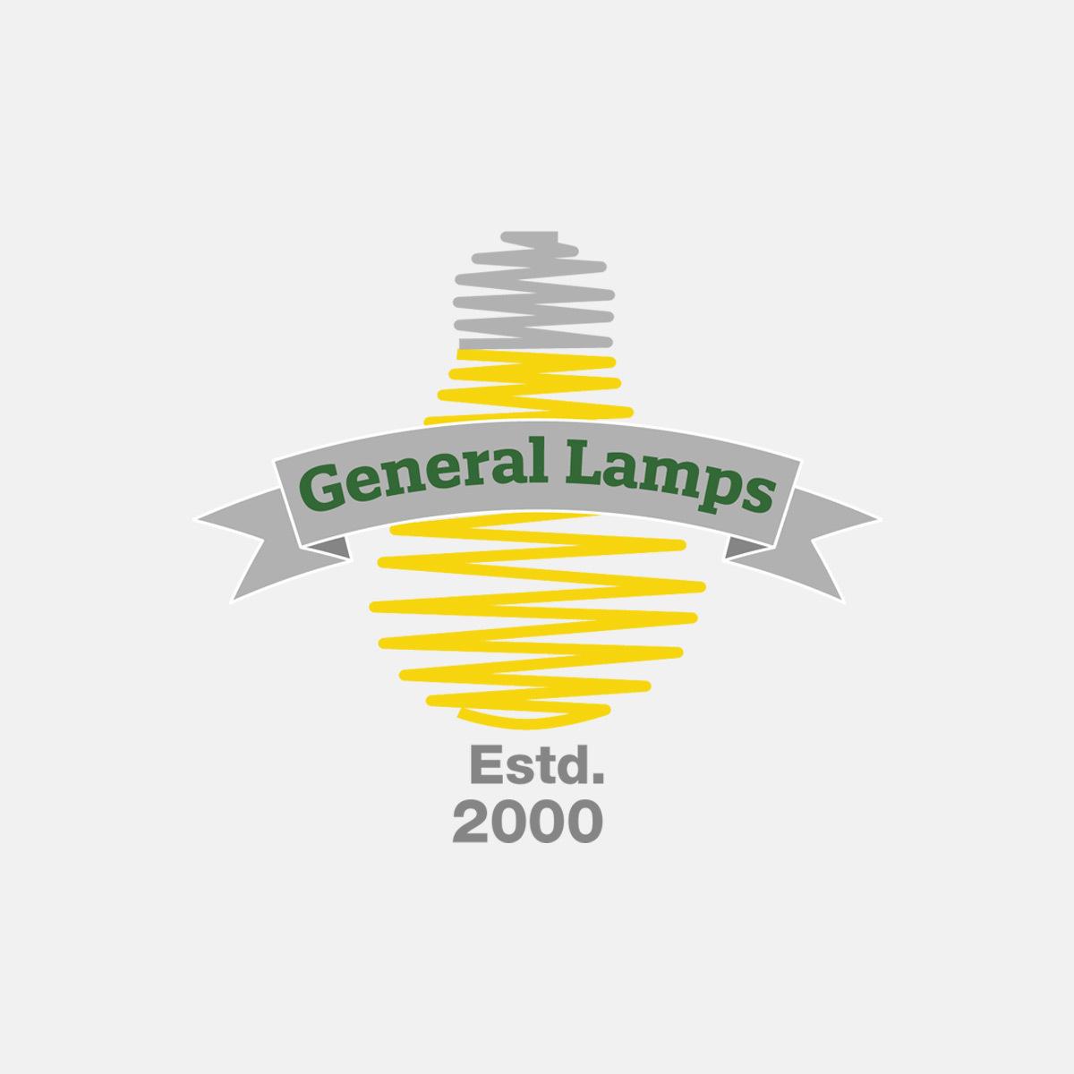ANTIQUE DECORATIVE LAMP 240V 60W B22d AMBER