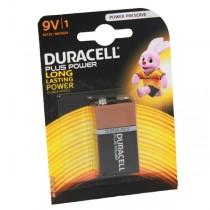 Duracell Plus Power Battery 9v MN1604 6LR61