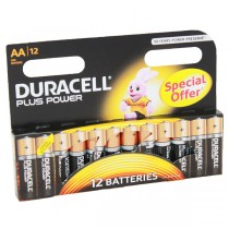 Duracell Plus Power Battery AA LR6 MN1500 x12