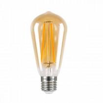 LED Edison Bulb 5w E27 Amber Dimmable