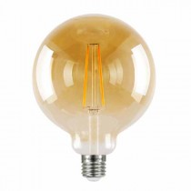 LED Edison Bulb G125 5w E27 Amber Dimmable