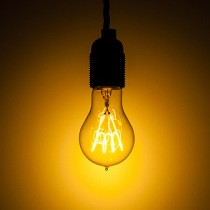 CARBON FILAMENT BULB 240V 50W E27 3500 HOURS