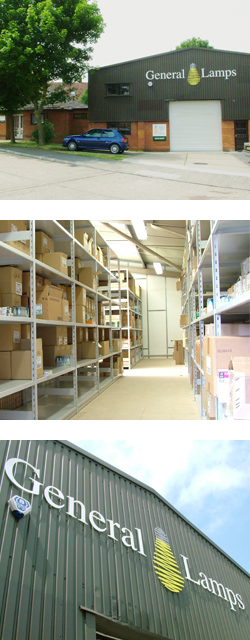 Meet the General Lamps warehouse
