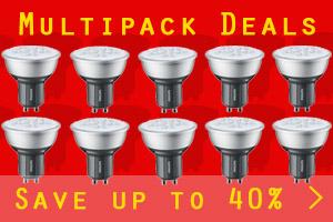 Lightbulb multipacks