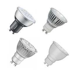 LED GU10 - 50w Halogen replacement