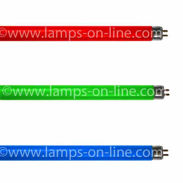 T5 Coloured Fluorescent Tubes