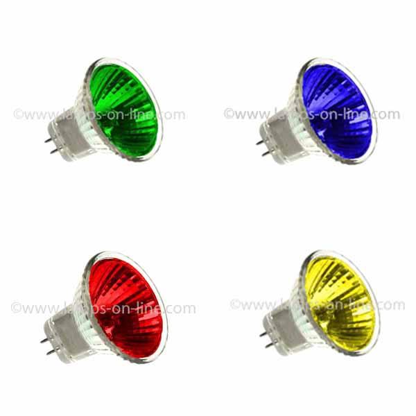 Coloured 12v MR11 (35mm Diameter)