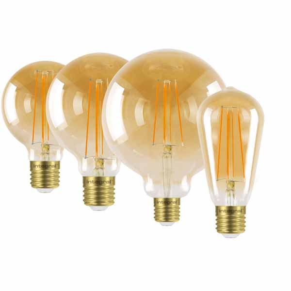 LED Filament Squirrel Cage Bulbs