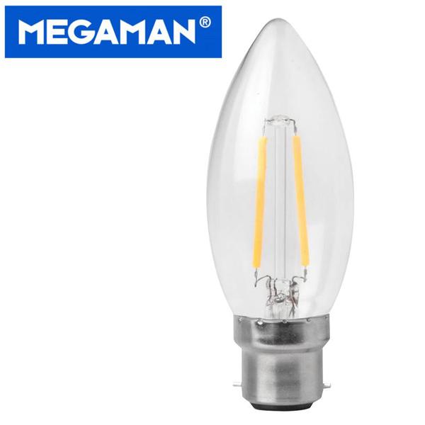 Megaman LED Filament Bulbs Candle
