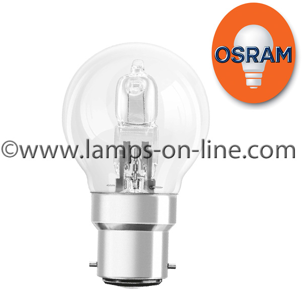 Osram Halogen Classic P ECO Golf Ball Bulb