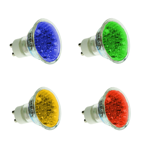 LED GU10 Coloured