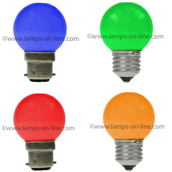 LED Golf Ball Coloured