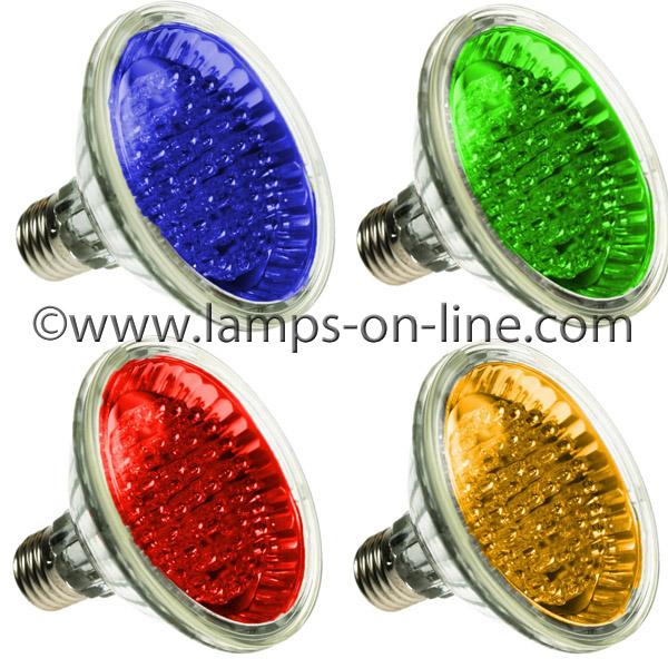 LED PAR30 Coloured