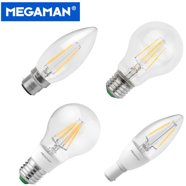 Megaman LED Filament Bulbs