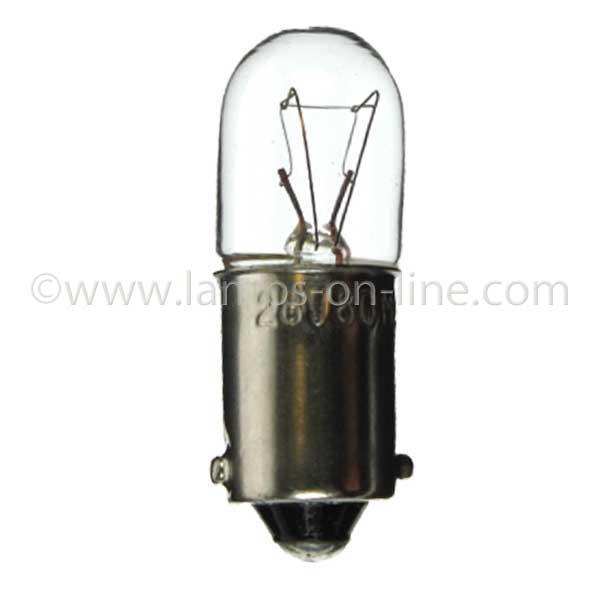 Panel Bulbs BA9S