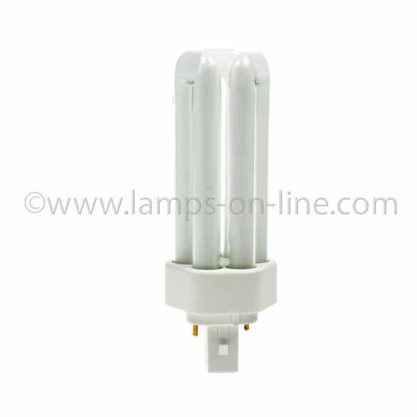 PLT 2 Pin Triple Turn Compact Fluorescent