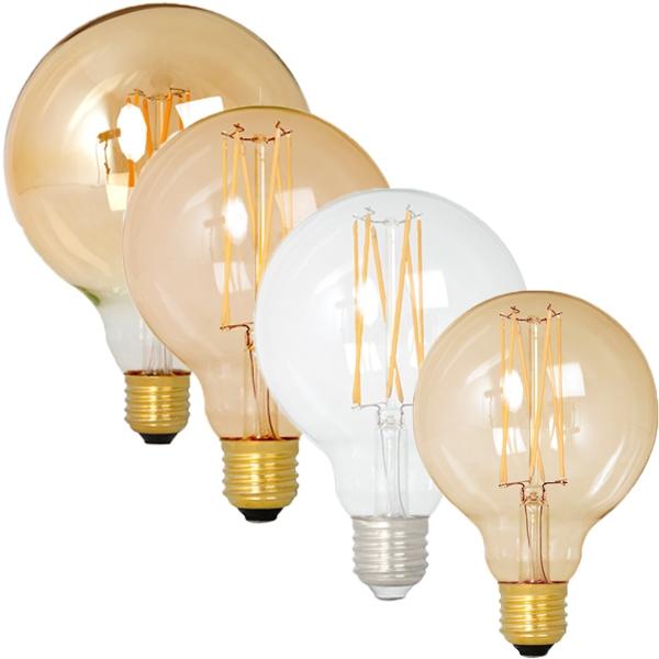Vintage LED Edison Globes