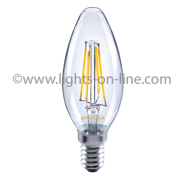 LED Filament Candle Bulbs