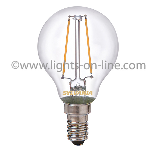LED Filament Golf Ball Bulbs