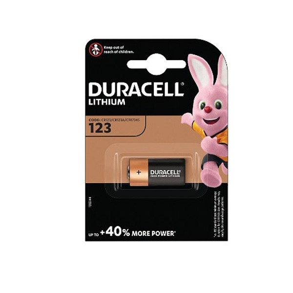 Duracell Battery Lithium Photo Battery CR123