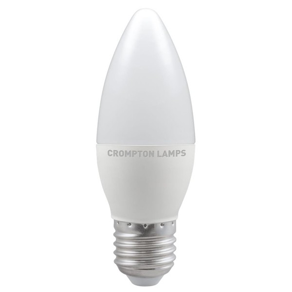 Crompton LED Candle 5.5w E27 4000K  Dimmable