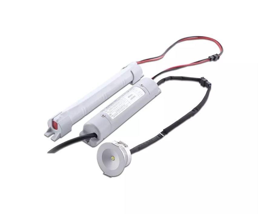LED EMERGENCY DOWNLIGHT 3W 5500K VTAC