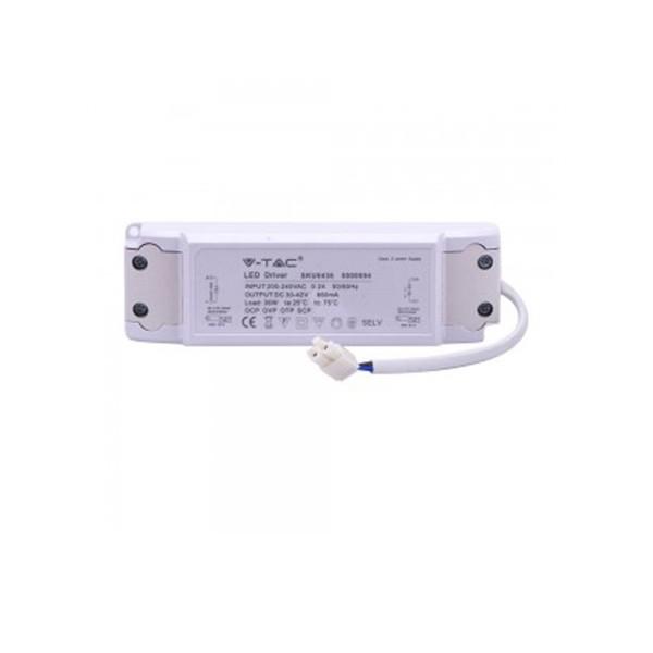 V-TAC LED DRIVER 6436 36W 600X600MM Panel
