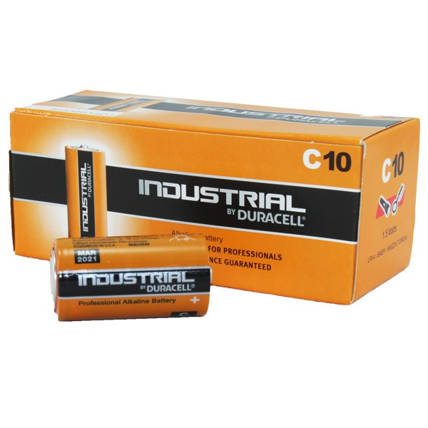 Duracell Industrial Battery C MN1400 10pk