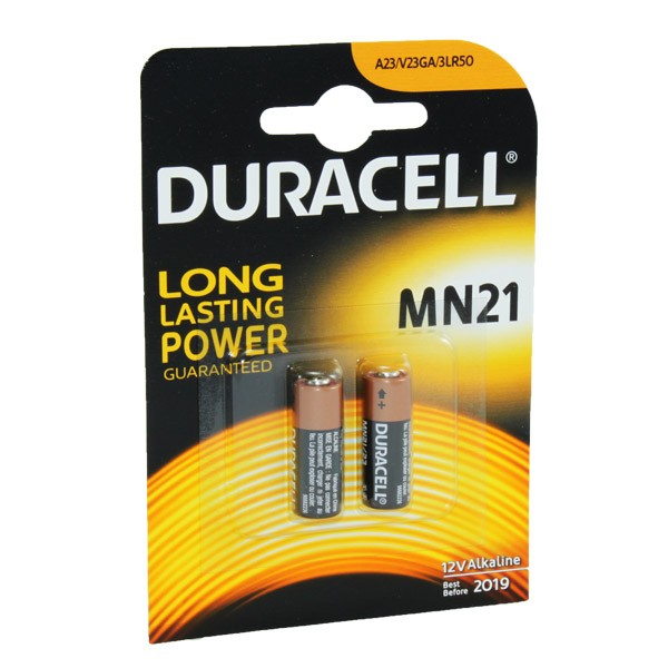 Duracell Battery MN21 8LR932 3LR50 A23 2 Pack