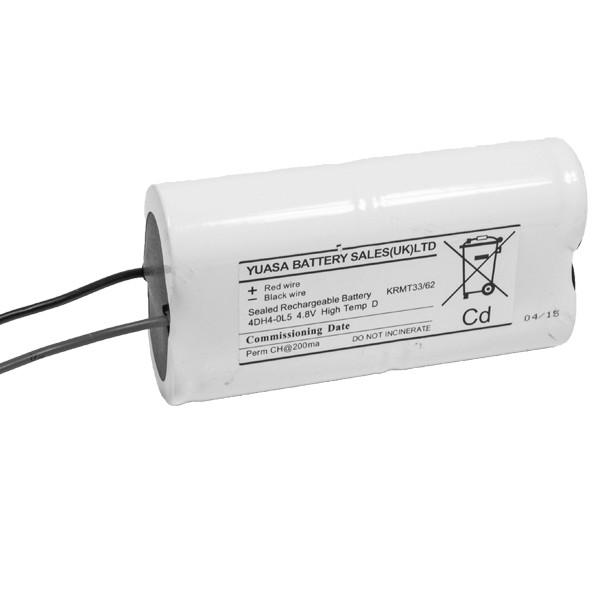 Emergency Lighting Ni-Cd 4.8v 4Ah 4DH4-0L5