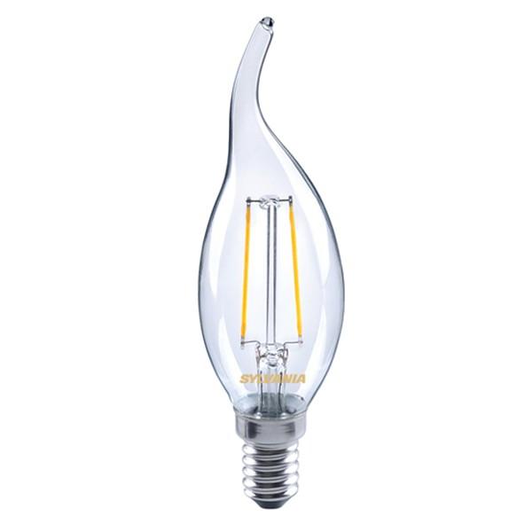 LED Filament Candle Bent Tip SYLVANIA 4w E14