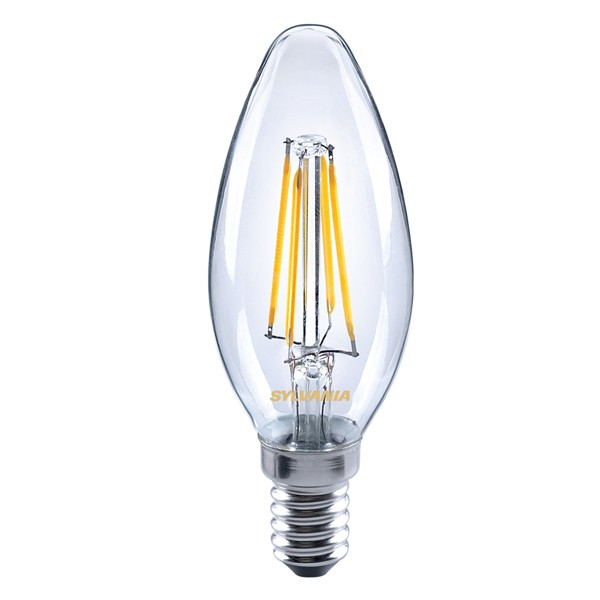 Energizer 4w 40w Filament Led Candle Ses: LED Filament Candle SYLVANIA Toledo 4w E14 From Havells