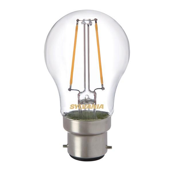 LED Filament Ball SYLVANIA Toledo 2.5w B22d