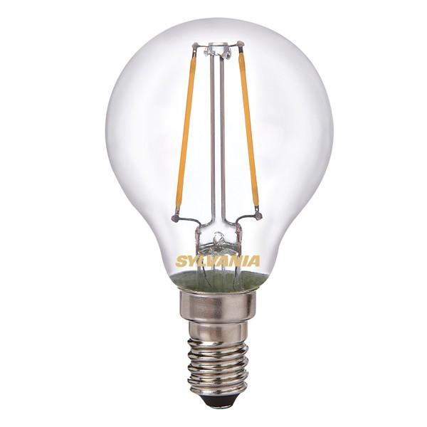 LED Filament Ball SYLVANIA Toledo 2.5w E14