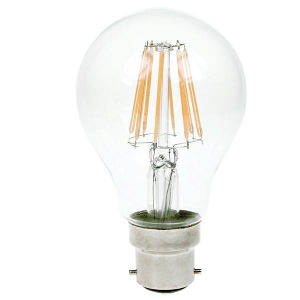 LED Filament Bulb 240v 7w B22d Dimmable