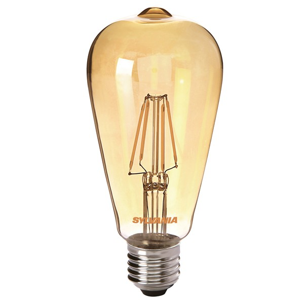 LED Squirrel Cage SYLVANIA Toledo 4w E27 Gold