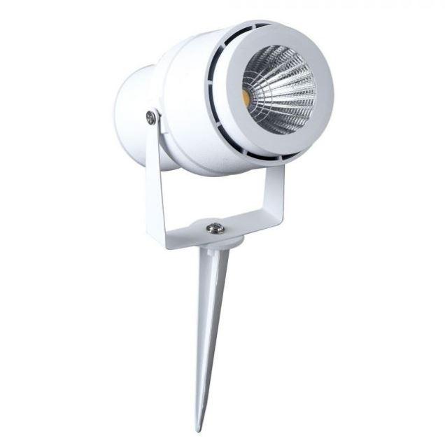 LED GARDEN LAMP 12W WHITE BODY 4000K
