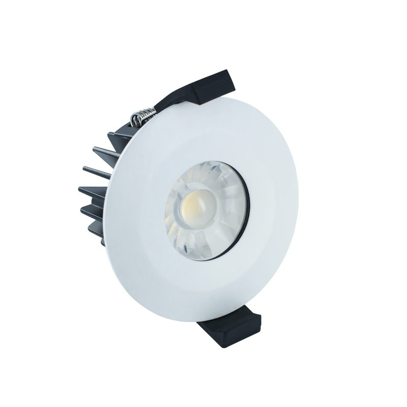 led downlight fire rated 6w 38 3000k ip65 led. Black Bedroom Furniture Sets. Home Design Ideas