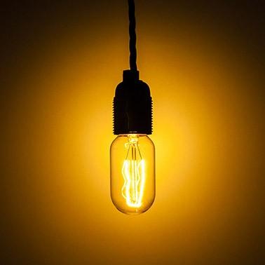 Decorative Tubular Light Bulb 240V 40W E27 Cl