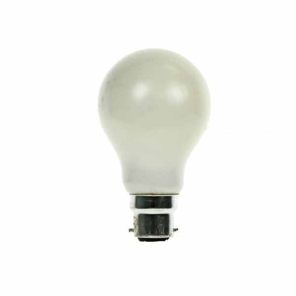 GLS Light Bulb 240V 15W B22D Pearl
