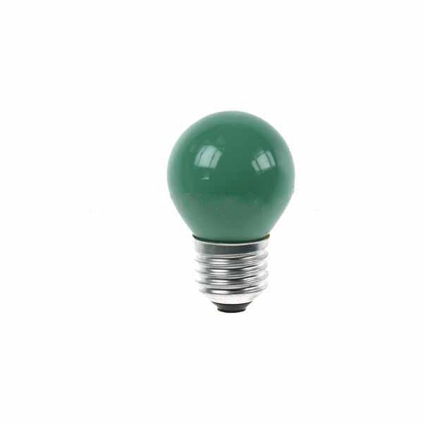 Golf Ball Bulb 45mm Round 240V 15W E27 Green