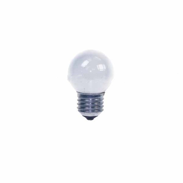 Golf Ball Bulb 45mm Round 15W E27 Opal/White