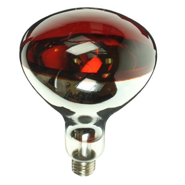 INFRA RED 240V 250W E27 RED HARD GLASS R125