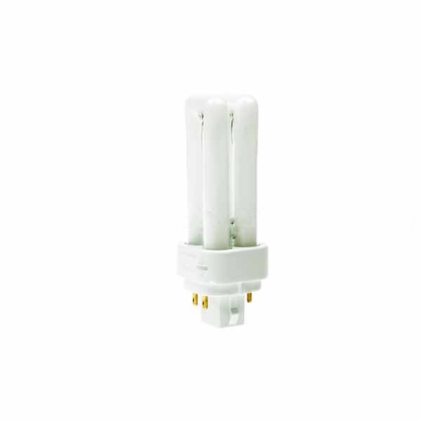 COMPACT FLUORESCENT PLC 10W 4 PIN 830 G24Q-1